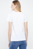 Levi's® - The perfect tee levi's type center - white