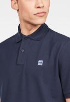 G-Star RAW - Dunda polo short sleeve - navy