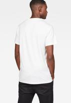 G-Star RAW - Graphic 53 T-shirt - white