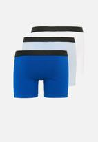 G-Star RAW - 3 Pack tach trunks - blue & white