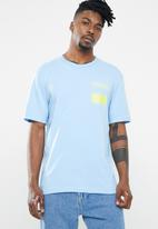 adidas Originals - Clesky tee - blue