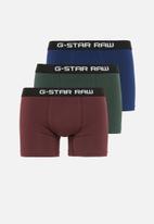 G-Star RAW - 3 Pack trunks - multi