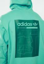 adidas Originals - GRP oth hoodie - green