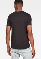 G-Star RAW - Graphic 4 r short sleeve tee - black
