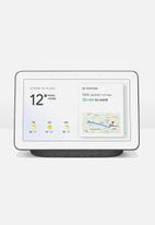 Google - Google home hub - white