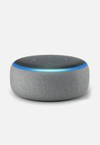 Amazon - Amazon echo dot 3rd gen - grey