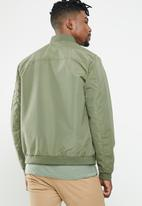 Jack & Jones - Desert bomber - green
