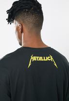 Jack & Jones - Metallica tee short sleeve crew - black
