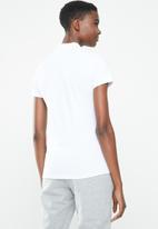 adidas - Polo tee - white