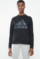 adidas - Glory crew neck sweater - black