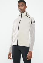 adidas - Zne mesh hoodie - cream