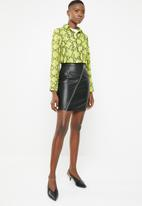 Noisy May - Penja skirt - black
