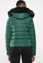 Tokyo Laundry - Pepper puffer jacket - green