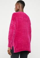 Tokyo Laundry - Aria chenille jersey - pink