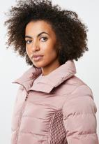 Tokyo Laundry - Chicory puffer jacket - pink