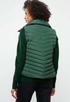 Tokyo Laundry - Chervil sleeveless puffer jacket - green