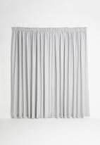 Sixth Floor - Taped curtain extra length - grey