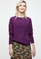 Tokyo Laundry - Willow jersey - purple