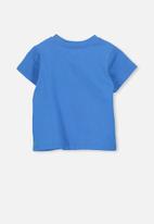 Cotton On - Short sleeve superhero tee - blue