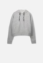 Cotton On - Boxy hoodie - grey