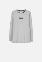 Cotton On - Long sleeve tee - grey