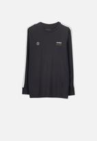 Cotton On - Long sleeve tee - black