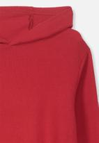 Cotton On - Super soft hoodie - red