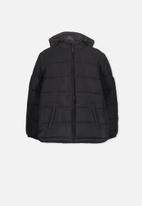 Cotton On - Alpine puffer jacket - black