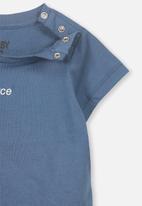 Cotton On - Short sleeve tee - blue