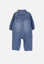 Cotton On - Micah boilersuit - blue