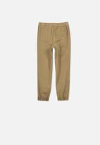 Cotton On - Rider jogger pant - beige