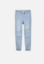 Cotton On - Slouch denim pant - blue