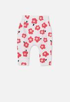 Cotton On - The legging - white & pink