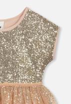 Cotton On - Inga tulle dress - pink & gold