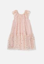 Cotton On - Iris tulle dress - pink
