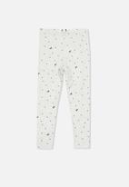 Cotton On - Huggie unicorn spot tights - grey