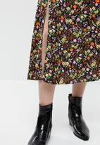 New Look - Ditsy midi skirt  - multi