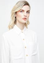 Superbalist - Soft utility shirt - white