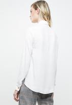 Superbalist - Soft utility shirt - white