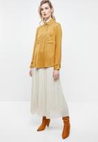 Superbalist - Soft utility shirt - yellow
