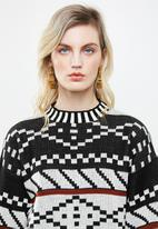 Superbalist - Pattern pullover - multi