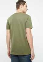 Cotton On - Essential crew tee - khaki