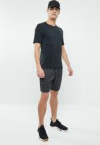 Reebok - Us training shorts - charcoal