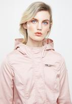 ONLY - New lorca spring canvas parka - pink