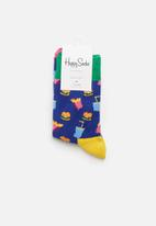 Happy Socks - Hamburger socks - multi
