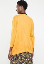STYLE REPUBLIC - Dolman sleeve cardigan - yellow
