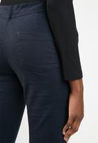 edit - Straight leg pants - navy