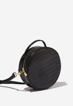 Cotton On - See you around cross body bag  - black