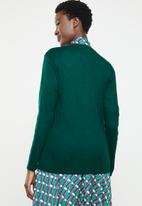 edit - Boxy cardigan - green