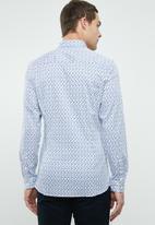 Jack & Jones - Parma watercolour long sleeve shirt - mutli